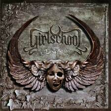 GIRLSCHOOL - Legacy [CD - LIKE NEW]