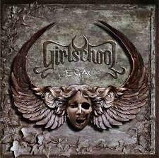 GIRLSCHOOL - Legacy [CD - LIKE NEW]