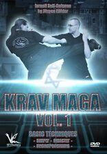 KRAV MAGA ISRAELI SELF -DEFENSE 1: BASIC TECHNIQUES NEW DVD