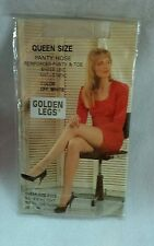 Vintage Golden Legs Off White queen size pantyhose New Old Stock