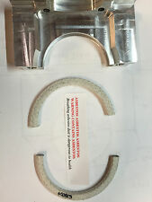 1956-62 Ford Y-Block 312 Rope Rear Main Seal Kit with new Billit Retainer