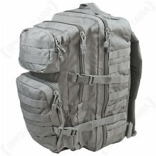 Urban Grey MOLLE Assault Pack - Large Size Rucksack Backpack Bag Military New
