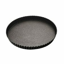 Paderno  Tourtière cannelée | Moule à tarte cannelé 28cm en métal anti-adhérent