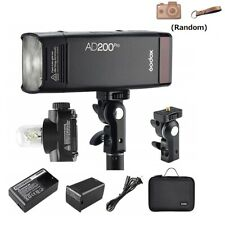 Godox AD200Pro TTL 2.4G Pocket Flash for Fuji Olympus Panasonic Pentax Cameras