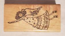 STAMPIN' UP RUBBER MOUNTED STAMP ANGEL