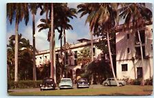 *1950s El Hotel Washington Colon Panama Vintage Postcard C64