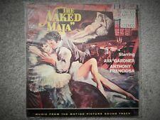 """NAKED MAJA (1959 MUSIC ANGELO LAVAGNINO)MINT SOUNDTRACK 12"""" VINYL LP AVA GARDNER"""