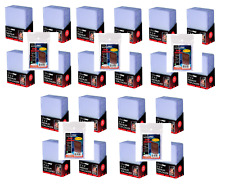 (500) Ultra-Pro 3x4 Premium Toploaders Standard Size 1/2 Case Toploads + Sleeves