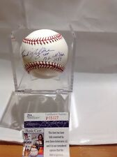 Baseball Red Sox Frank Malzone Autographed Baseball JSA Certified Deceased