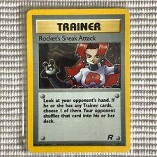 Rocket's Sneak Attack - 16/82 - Team Rocket- Holo - Pokemon Card - Perfect