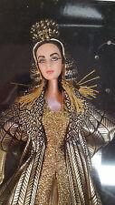 NEW! Mattel Elizabeth Taylor In Cleopatra Barbie Doll