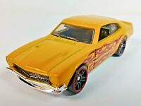 Hot Wheels HW Flames 5-Pack Excl. '71 Ford Maverick Grabber Yellow 1/64 Loose