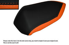 DESGN 2 ORANGE&BLACK CUSTOM FITS KAWASAKI Z750 07-12 Z1000 07-09 REAR SEAT COVER