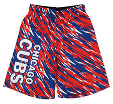 Klew MLB Baseball Men's Chicago Cubs Polyester Lightweight Shorts