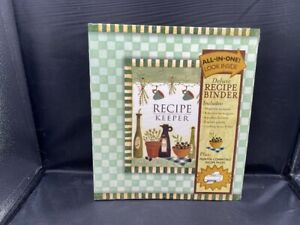 NEW RECIPE KEEPER DELUXE BINDER ALL IN ONE