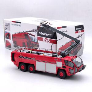 1/50 OSHKOSH AIRPORT PRODUCTS Fire Engine Striker 6X6 Truck Diecast Red