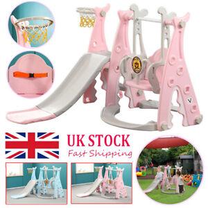 Toddler Garden Climber Slide Play Swing Set Indoor/Outdoor Kids Playground Toy