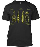 Violin Patent Premium Tee T-Shirt