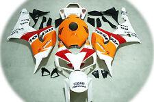 Aftermarket ABS fairings fit Honda CBR1000rr 06-07 2006 2007 Repsol white colors