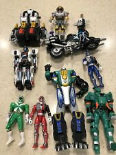 POWER RANGERS LOT 10 PC, VINTAGE, Variety, Bandai, Hidden TREASURES, Great Price