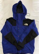 The North Face Men's Zippered Gortex Blue Black Jacket Size XL (RF1024)
