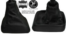 BLACK STITCH LEATHER GEAR GAITER FITS VAUXHALL OPEL CAVALIER VECTRA A CALIBRA