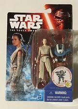 "Star Wars Rey Starkiller Base 3.75"" BNIP Brand New Force Awakens Figure Rebels"