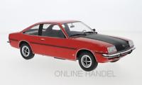 +++ Opel Manta B SR rot schwarz  1975 Manta Manta 1:18 MCG 18106