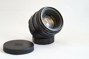 Helios 44-2 58mm f2  M42; Swirly-Bokeh mit Umbauoption als Kreativlinse