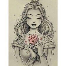DIY 5D Rose Beauty Diamond Painting Full Drill Home Decor Cross Stitch Kits Gift