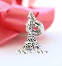 NEW! AUTHENTIC PANDORA CHARM EIFFEL TOWER  TRAVEL DANGLE 791082 *SPECIAL*