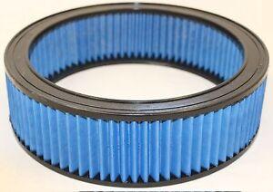 """Kool Blue KR2509 Lifetime Washable High Flow Air Filter 12"""" x 3 1/2"""" Oldsmobile"""