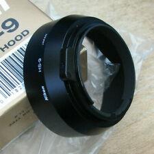 original nikon HS-9 HS9 lens hood for 50mm f1.4 lenses 52mm clip in japan boxed
