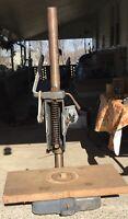 "Vintage Craftsman Drill Press Model 103 21 1/4"" Tall"