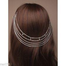 Hair Chain Grecian Headband Chain Alice Hair Band Cuff Pin Head Clip Grips Gift
