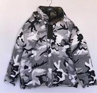 VETEMENTS X CANADA GOOSE camoglage REVERSABLE puffer Jacket RRP £2545