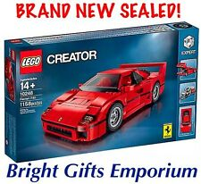 LEGO 10248 Ferrari F40 Creator Exclusive Super Car Red Racing Boy Girl Gift NEW!