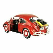 MOTORCITY CLASSICS 1966 WV Beetle Coca-Cola Delivery Die Cast Model, 1:24 Scale