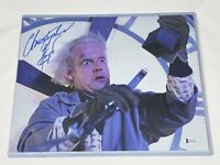 Christopher Lloyd Signed 11x14 Photo Back to the Future Autograph Beckett COA 7