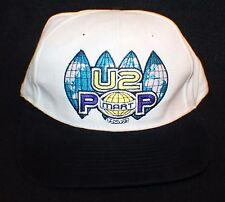 Vintage 1997 U2 Bono POP MART Tour Strapback Hat Cap FREE S&H
