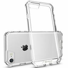 Premium Slim Transparent Protective Case for iPhone 7 - Shock-Absorbing TPU Bump