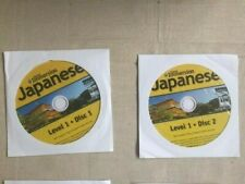 Learn How To Speak Japanese With Instant Immersion Levels 1-3 CD-ROM