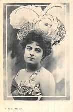 POSTCARD   GLAMOUR      French  Actress     DHC  No  1357
