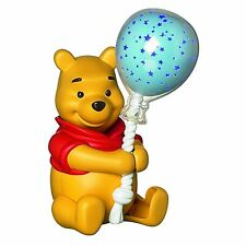 Tomy Winnie the Pooh Balloon Star Lightshow Baby Night Light, Plays 5 Lullabies