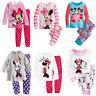 Minnie Mickey Mouse Pois Bébé Enfants Filles Love Pyjama Pyjama Pyjama Suit