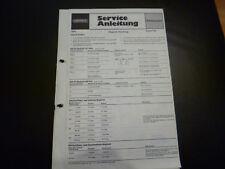 Original Service Manual  Grundig Signal 700
