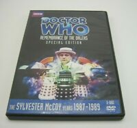 Doctor Who Sylvester McCoy Years 1987-89 Remembrance of the Daleks DVD Story 152