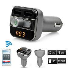 Wireless Bluetooth BT Car FM Transmitter MP3 Player To Transmit Phone Call