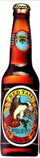 """7.5"""" Beer bottle ale bar decor red tail ale prepasted wall border cut out"""