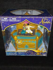 Jewellery box disney aladdin and jasmine disney musical new jakks pacific